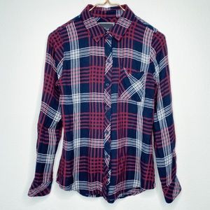 RAILS Hunter Plaid Button Down Shirt Size XS